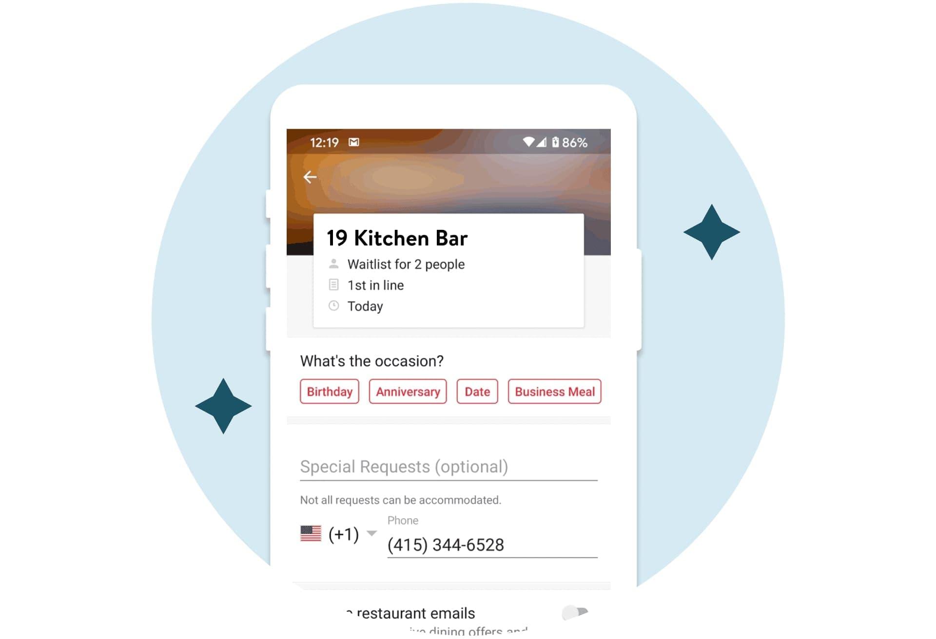 reservation app
